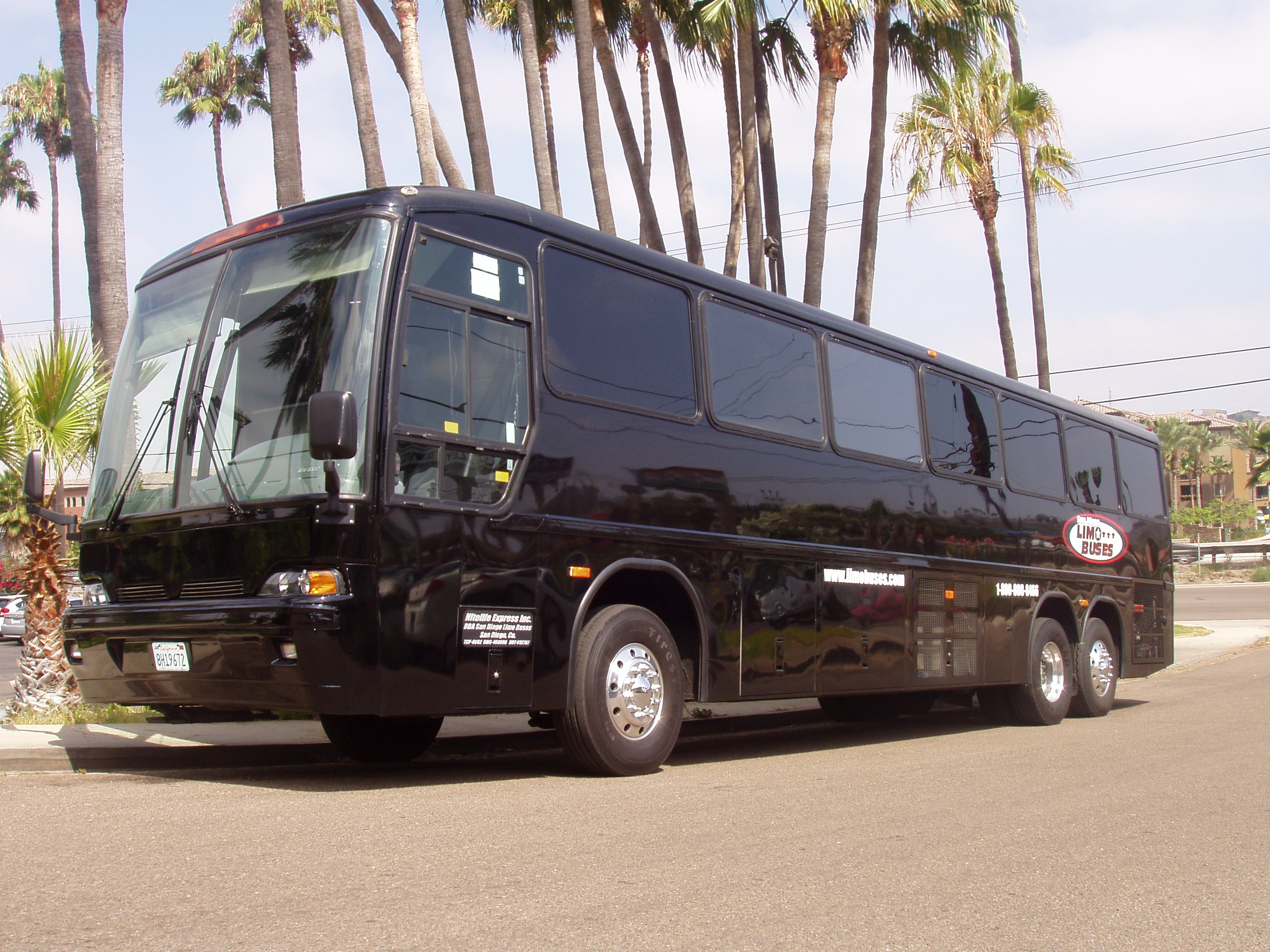 Luxury Liner Limobus for sale in San Diego